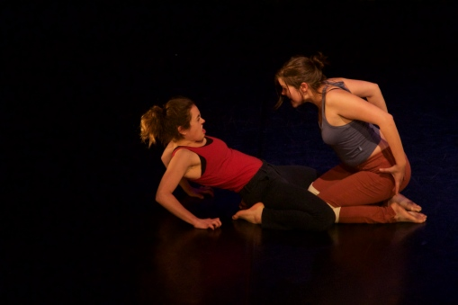 Kim l.Rouchdy, Aliah Schwartz. Photo by Micheal Montanaro