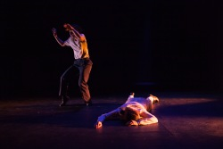 Lucy Fandel and Sarah Foulkes. Photo by Loan Ertel